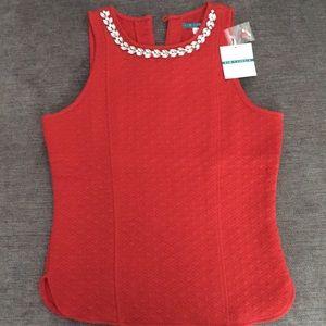 NWT Women's Pim & Larkin sleeveless blouse, size S